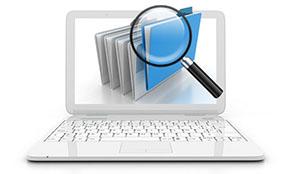 Datenrettung und Kontrolle der Daten